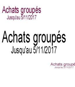 Achats groupés